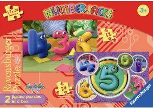Image of Numberjacks Jigsaw Puzzle