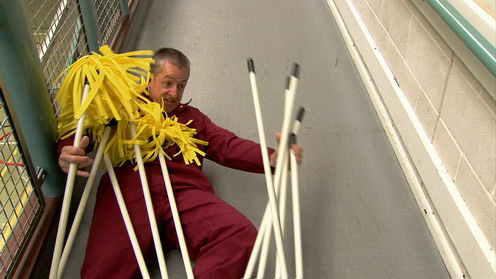 Man with difficult mops image