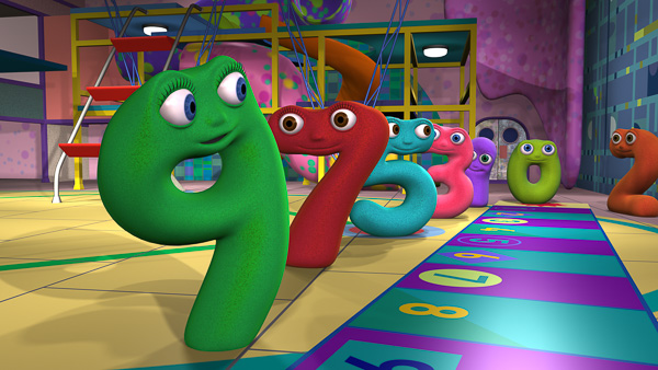 Numberjacks in gym image